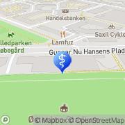 Kort Klinik for Fodterapi (Teresa Godoy) København, Danmark