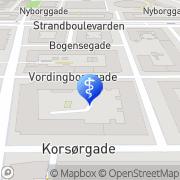 Kort Klinik for Fodterapi København, Danmark