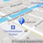 Kort Christianshavns Torv Tandlægeklinikken ApS København, Danmark