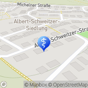 Karte Heilpraktikerin Katharina Sieber Lichtenstein/Sa., Deutschland