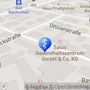 Karte Salus Gesundheitszentrum Bad Reichenhall, Deutschland