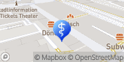 Karte terzo-Zentrum Chemnitz, Deutschland