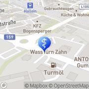 Karte Perz Günter Dr. Sport- u Manualmedizin Hallein, Österreich
