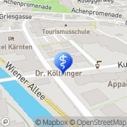 Karte Költringer Robert Dr. Bad Hofgastein, Österreich
