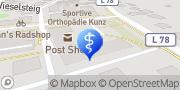Karte Physiotherapie Niko Zander Nuthetal, Deutschland