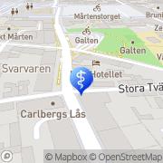 Karta Fot & Zon Qliniquen Lund, Sverige