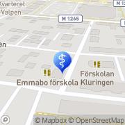 Karta Claes Larsson Tandläkare Eslöv, Sverige