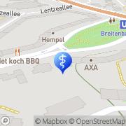 Karte Zahnarztpraxis Breitenbachplatz Dr. Alina Schröder Berlin, Deutschland