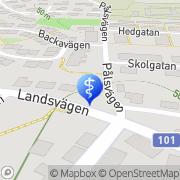 Karta Tandläkare Ingrid & Claes-Jöran Frankman Anderslöv, Sverige