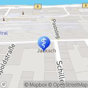 Karte Dr. med. dent. Elke Dämmrich Passau, Deutschland