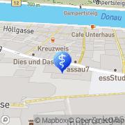 Karte Psychologische Praxis Günther Jakober Passau, Deutschland