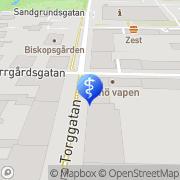 Karta Amidas Friskvård AB Karlstad, Sverige