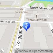 Karta Zenith Optik & Trading Karlstad, Sverige