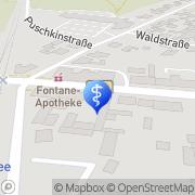 Karte Petra Ahrensdorf Bestensee, Deutschland