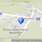 Karte DDr. Elisabeth Pollak-Ure Aigen, Österreich