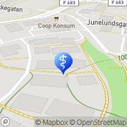 Karta Kjell Lindström Hälsoteknik Jönköping, Sverige