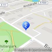Karte Dr. med. Dieter Werner Arzt für Allgemeinmedizin Bischofswerda, Deutschland