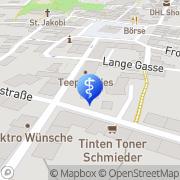 Karte Podologische Praxis Weber Neustadt i. Sa., Deutschland