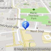 Karte Dr. med. univ. Martina Ogris Klagenfurt, Österreich