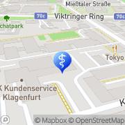 Karte Ernährungs- u Diätberatung d Kärntner Gebietskrankenkasse Klagenfurt, Österreich