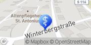 Karte Häuslicher Alten- und Krankenpflegedienst Bettina Illguth Schirgiswalde-Kirschau, Deutschland