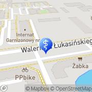Mapa Dental-Pro-Dermed  Szczecin, Polska