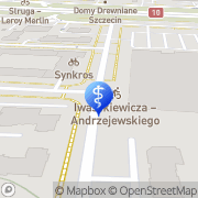 Mapa Dent Medica Szczecin, Polska