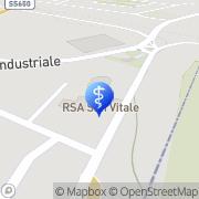 Map RSA/RA SAN VITALE Salvo Marina, Italy