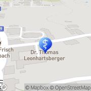 Karte Dr. Anna Altzinger & Dr. Thomas Leonhartsberger Ordination für Allgemeinmedizin Dimbach, Österreich