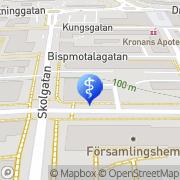 Karta Tandläkare Göran Martinsson Motala, Sverige
