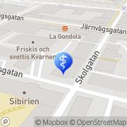Karta Dentaltjänst i Örebro AB Örebro, Sverige