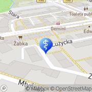 Mapa Musielak Jarosław, lek. med. Gorzów Wielkopolski, Polska