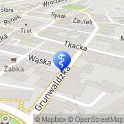 Mapa Dentamed Lubań, Polska