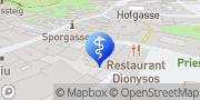 Karte Dr. med. dent. Doris Innerhofer Graz, Österreich