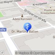 Karte Augenambulatorium Morela GmbH Graz, Österreich