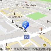 Karte Mozartpraxis Graz, Österreich