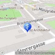 Karte Auer Zahntechnik Graz, Österreich