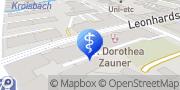 Karte Dr. med. Kurt Usar Graz, Österreich