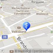 Karte Schwarz-Blamauer Elisabeth Krems an der Donau, Österreich