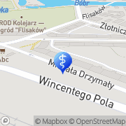 Mapa Moskal Tomasz, lek. stomatolog Jelenia Góra, Polska
