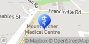 Map Mt Archer Medical Centre Frenchville, Australia