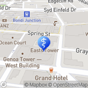 Map Dementia Caring Bondi Junction, Australia