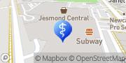 Map Specsavers Optometrists - Jesmond Jesmond, Australia