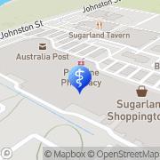 Map Specsavers Optometrists - Bundaberg Stockland Bundaberg, Australia