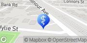 Map Podiatry Hub Graceville, Australia