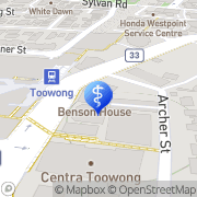 Map Brisbane Acupuncture & Natural Therapies® - Acupuncture, Herbalist, Chinese Medicine Toowong, Australia