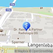Karte Gruppenpraxis - Dr. Rainer & Partner Radiologie OG Tulln, Österreich