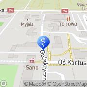 Mapa Krawczuk Zdzisław, lek. med Legnica, Polska
