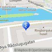 Karta Mental Träning & Sjukgymnastik LG Thorell Norrköping, Sverige