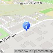 Mapa Gołofit Zbigniew, lek. med. Koszalin, Polska
